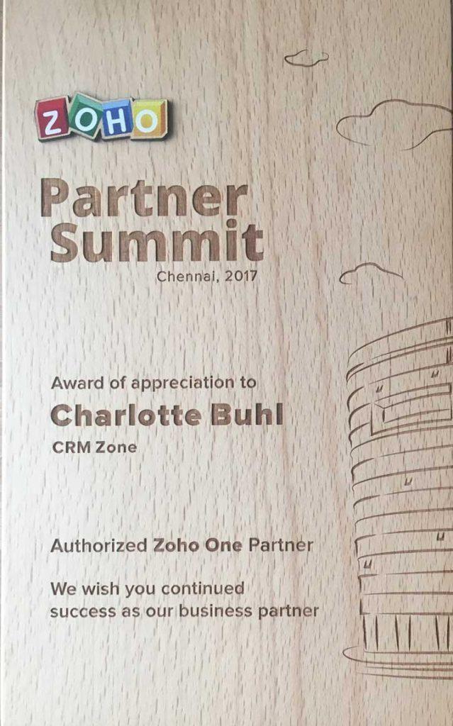 authorized zoho one partner